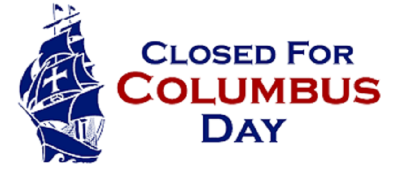 Columbus Day – Library Closed